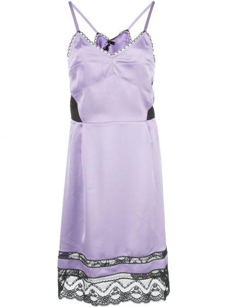 Кружевное платье - фиолетовое Marc Jacobs