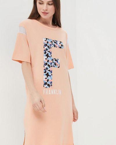 Розовое платье Franklin & Marshall