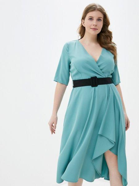 Повседневное платье весеннее бирюзовый Kitana By Rinascimento