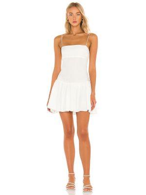 Biała sukienka z wiskozy Nbd