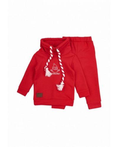 Спортивный костюм красный Mimi Book