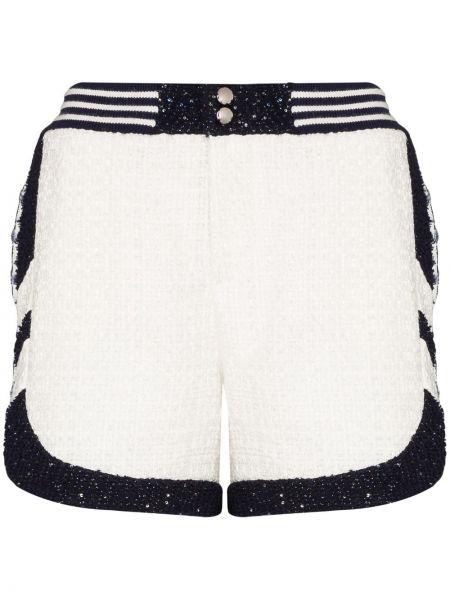 Белые с завышенной талией шорты с карманами Faith Connexion