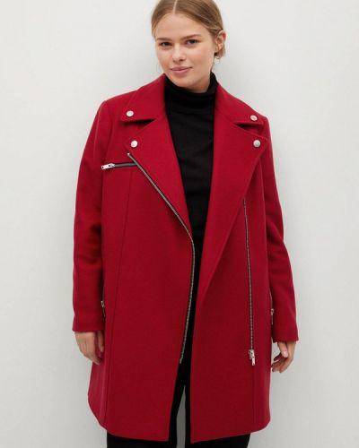 Красное пальто Violeta By Mango