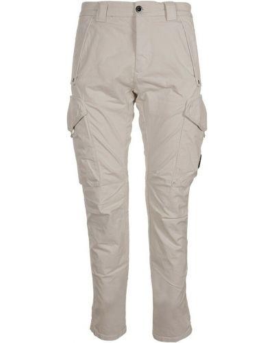 Beżowe spodnie C.p. Company