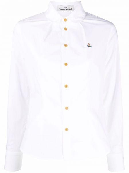 Длинная рубашка - белая Vivienne Westwood