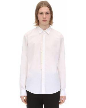 Klasyczna biała klasyczna koszula bawełniana Rochas