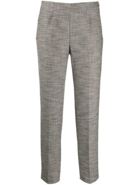 Spodnie z wiskozy z printem Piazza Sempione