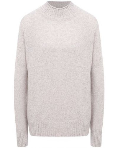 Бежевый кашемировый свитер Allude
