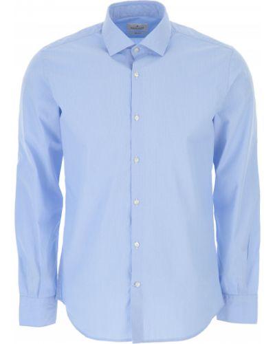 Biała koszula bawełniana z długimi rękawami Brooksfield