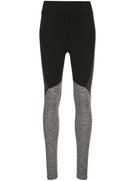 Черные спортивные брюки с высокой посадкой эластичные без застежки Alala