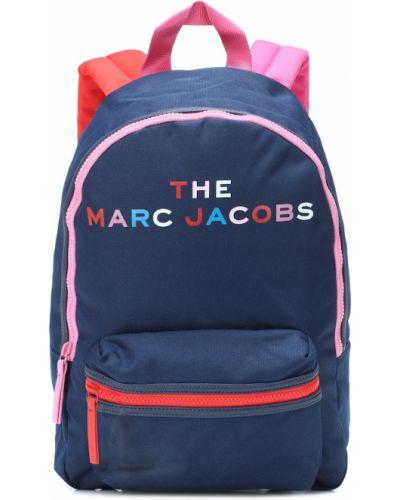 Niebieski nylon plecak The Marc Jacobs