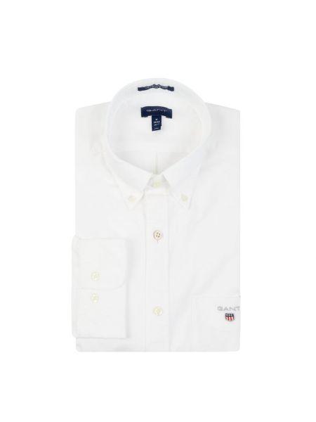 Koszula oxford z logo z kołnierzem Gant