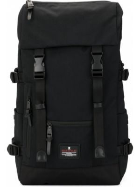 Черная нейлоновая сумка с пряжкой Makavelic