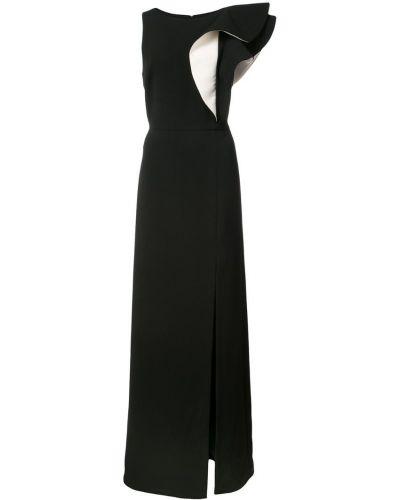 Платье с оборками Halston Heritage