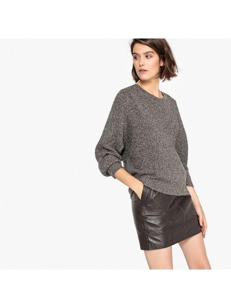 Пуловер шерстяной акриловый La Redoute Collections