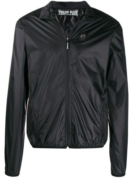 Czarna kurtka z siateczką Philipp Plein