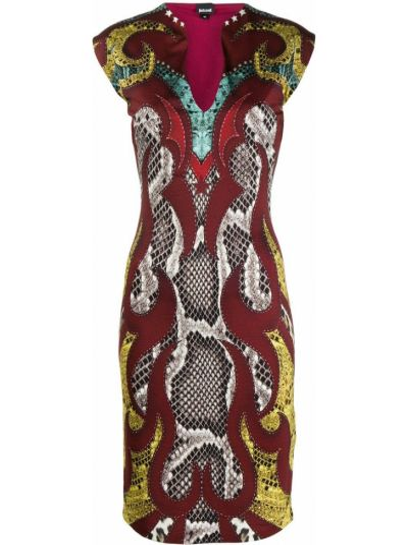 Платье без рукавов Just Cavalli