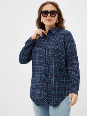 Синяя рубашка с длинными рукавами Bordo