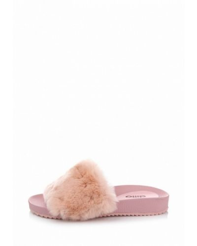 Розовое сабо кожаные Ditto
