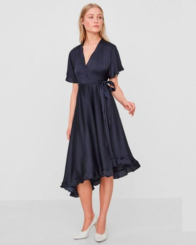 Платье с поясом с короткими рукавами Vero Moda