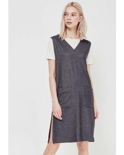 Платье весеннее серое H:connect