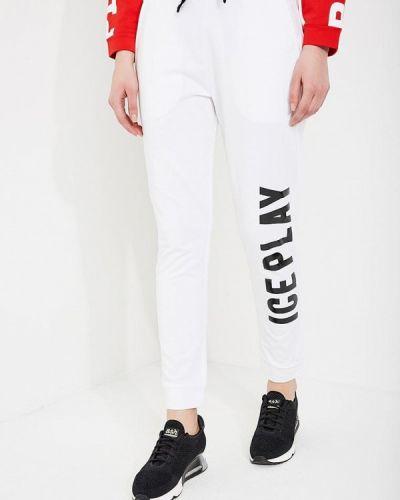 Белые спортивные брюки Ice Play
