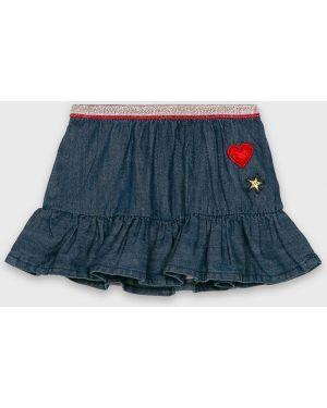 Прямая синяя джинсовая юбка Blukids