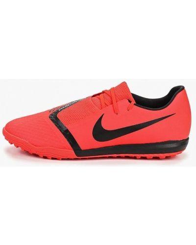 Бутсы зальные красные Nike