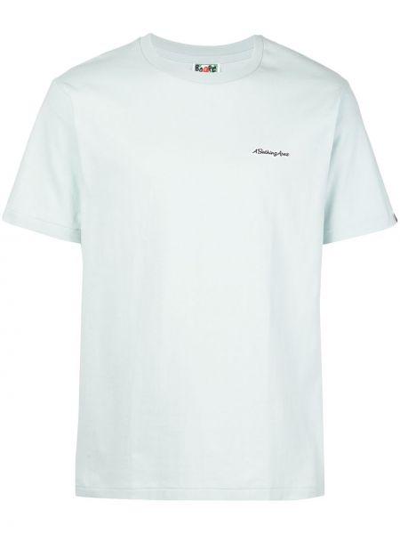 Koszula krótkie z krótkim rękawem z nadrukiem niebieski Bape