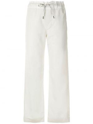 Прямые с завышенной талией брюки эластичные À La Garçonne