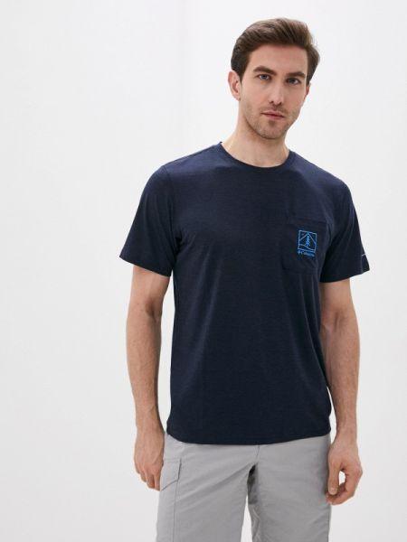 Спортивная футболка синий Columbia
