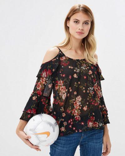 Черная блузка с рюшами Ovs