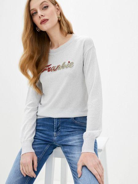 Серый свитер Frankie Morello