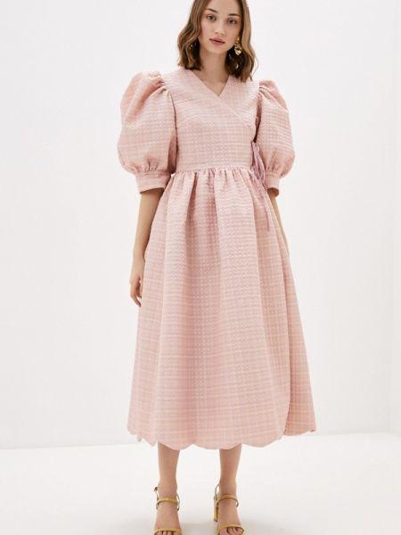 Платье розовое с запахом Sister Jane