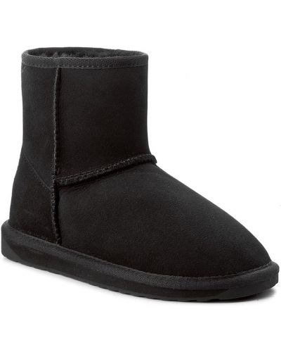 Buty zamsz czarny Emu Australia