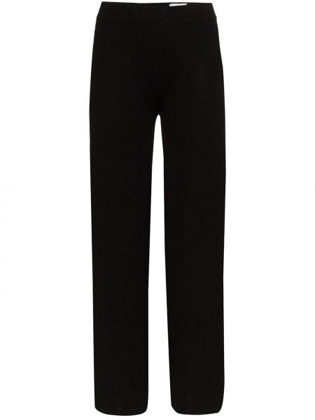 Черные свободные брюки Carcel