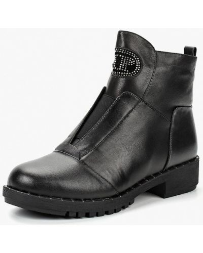 Кожаные ботинки осенние Baden