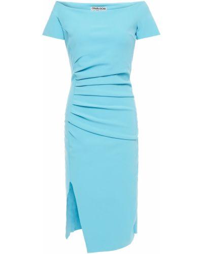 Платье с разрезом - бирюзовое Chiara Boni La Petite Robe