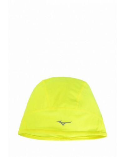 Желтая шапка Mizuno
