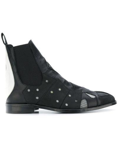 Ботильоны кожаный для обуви Moohong