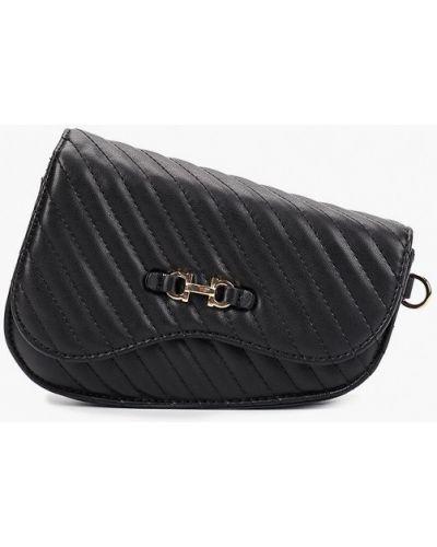 Кожаная поясная сумка - черная Skinnydip
