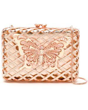 Розовая сумка на плечо с подкладкой Isla