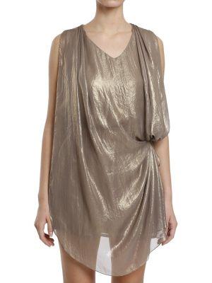 Платье - золотое Plein Sud