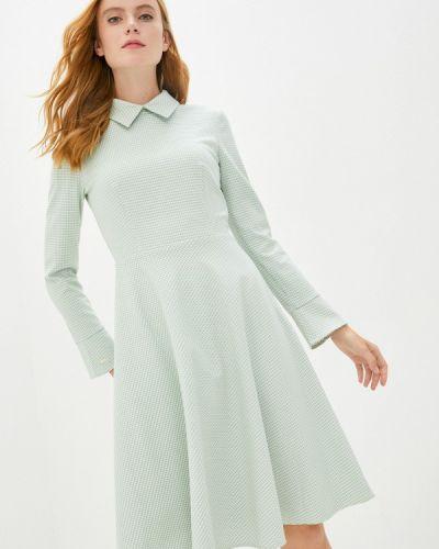 Зеленое прямое платье Akhmadullina Dreams