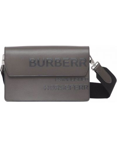 Torba skórzana Burberry