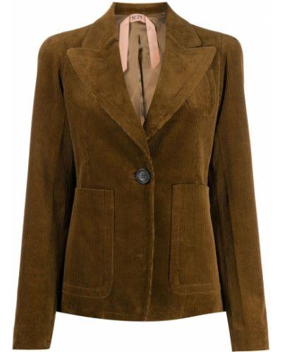 Пиджак вельветовый в полоску N21