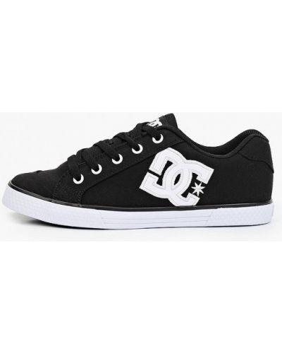 Текстильные кеды - черные Dc Shoes
