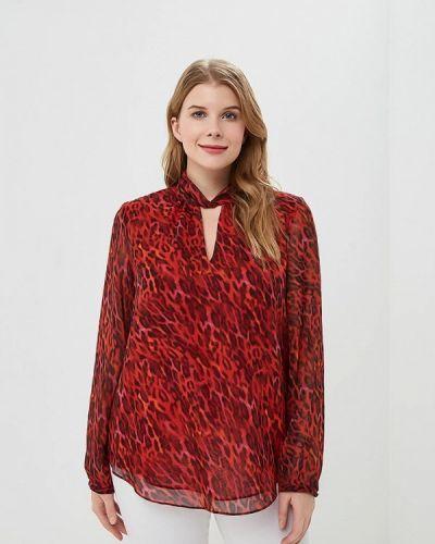 Красная блузка осенняя Wallis