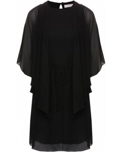 Платье мини с поясом прозрачное See By Chloé