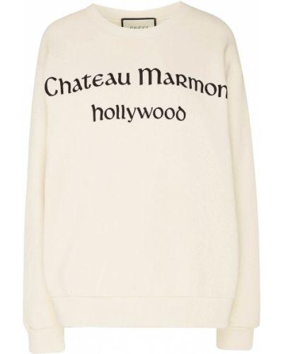 Худи с надписью с надписями Gucci